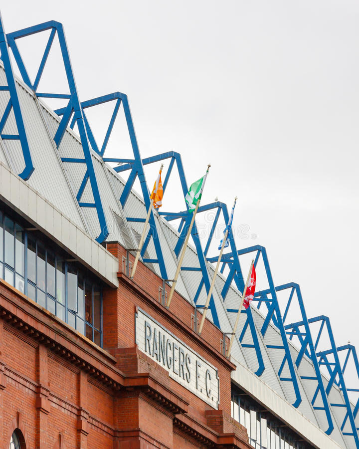 The Bill Struth Main Stand stock images