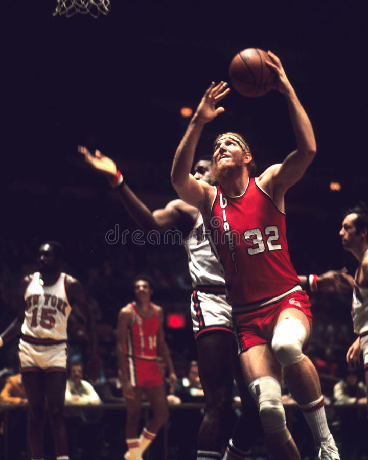 Bill Walton Portland Trailblazers stock photography