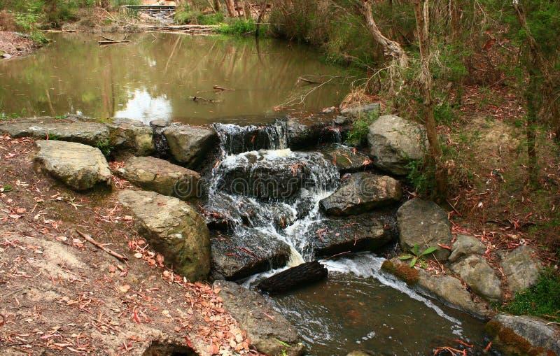 Billabong Water Fall stock images