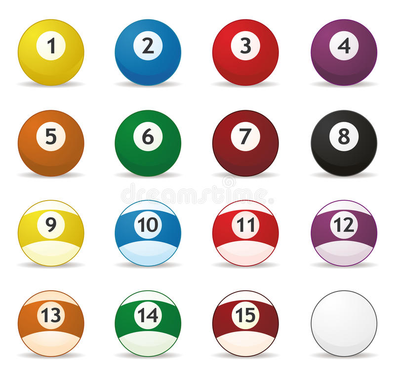 Download Billard Balls Royalty Free Stock Photography - Image: 12139127