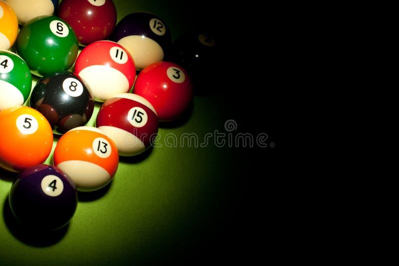 Billard Spiel! lizenzfreie stockfotografie