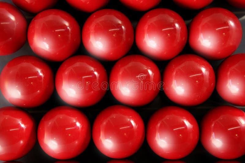Billard texture rouge de fond de beaucoup de lignes de billes images libres de droits