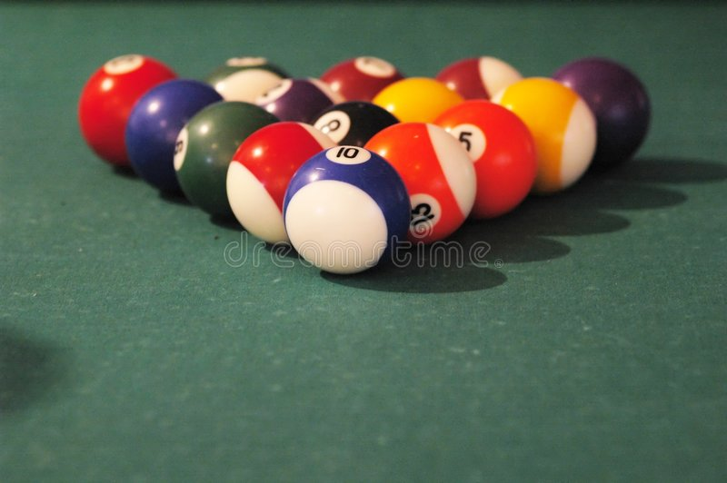 Billards stock foto
