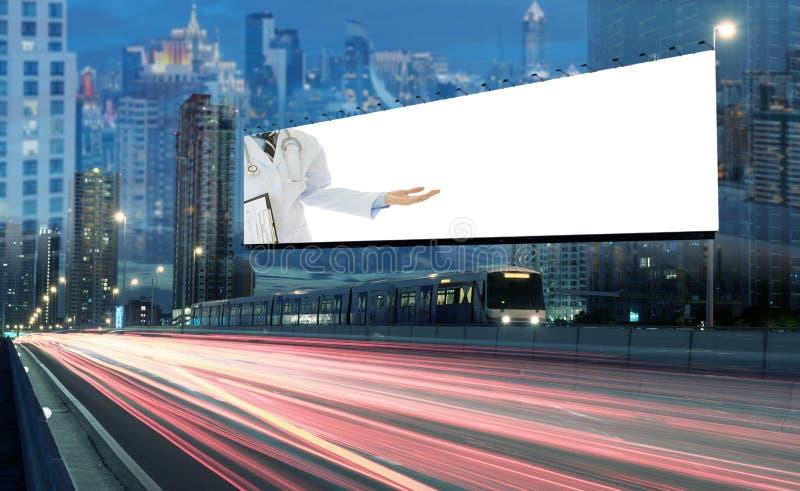 Billboardów zdrowie fotografia stock