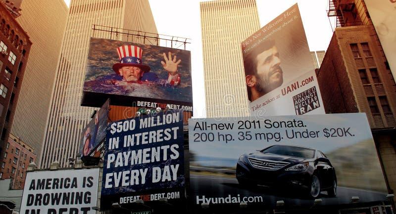 billboard fotografia stock
