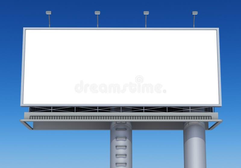 Download Billboard stock illustration. Image of outside, blue - 26282725