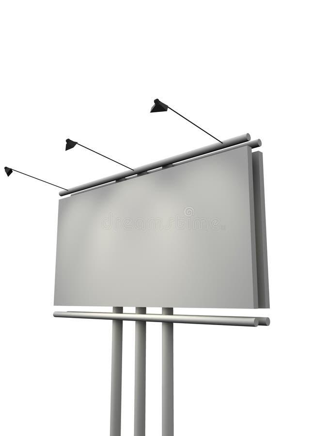 billboard 3 d ilustracji