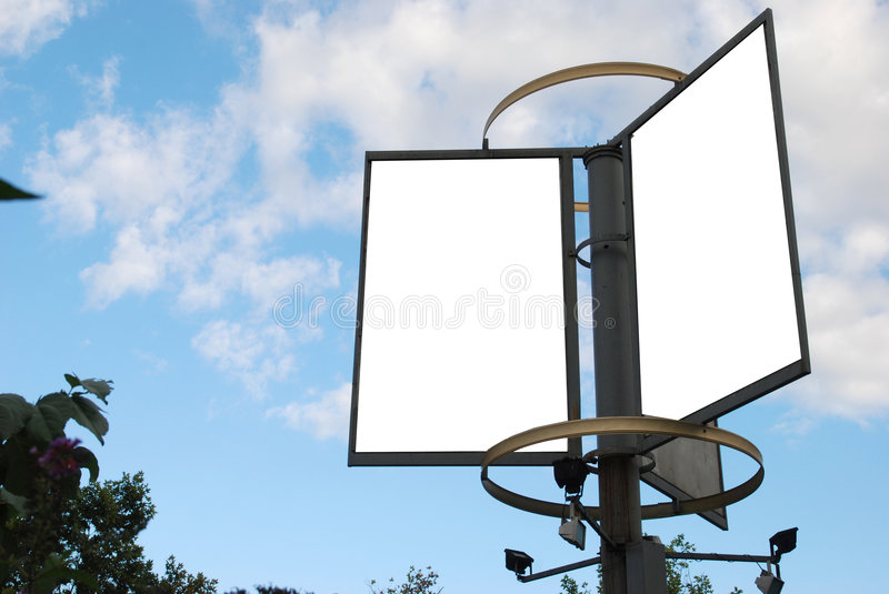 Download Billboard stock photo. Image of clear, rental, city, outdoor - 3351976