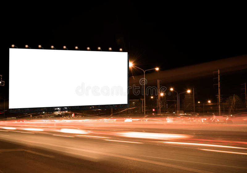 Billboard obraz royalty free