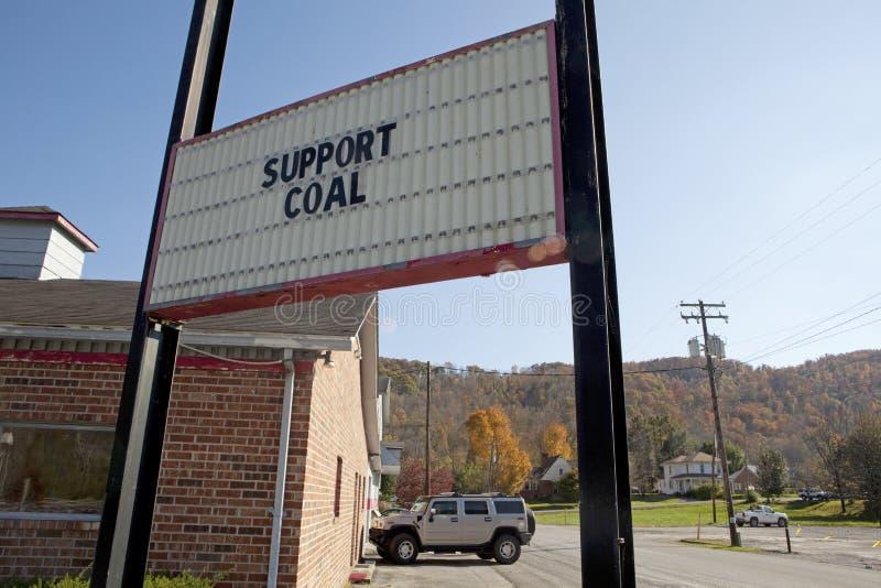 Billboard, Appalachia obrazy stock