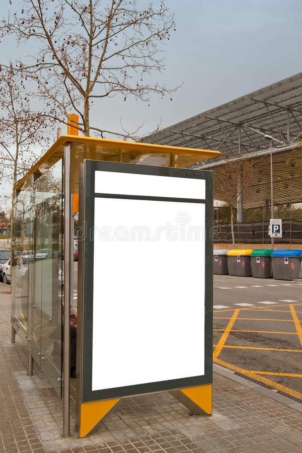 Download Billboard Autobusowy Czyścić Przerwę Zdjęcie Stock - Obraz złożonej z komunikacja, plakat: 13332746