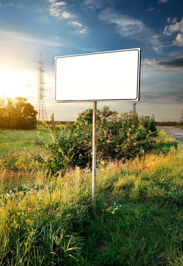 Billboard stock photo