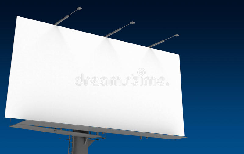 Billboard royalty free stock photo
