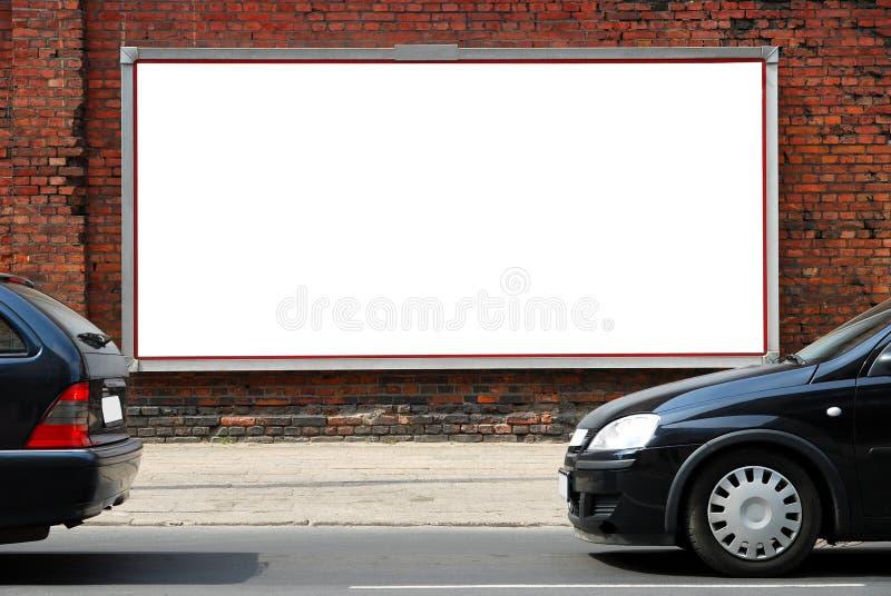 billboard ulica zdjęcia royalty free