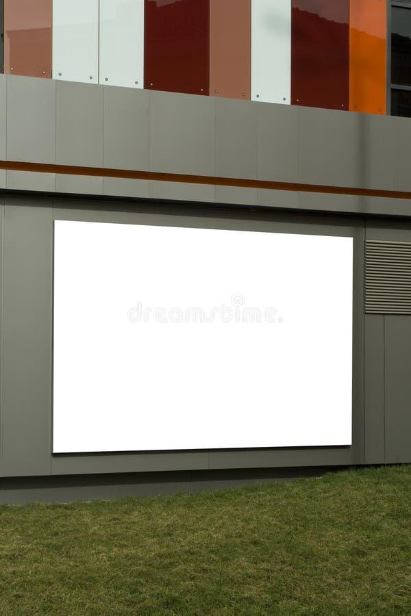 billboardu biel zdjęcie stock