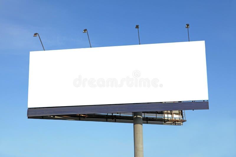 billboardu puste miejsce zdjęcia royalty free