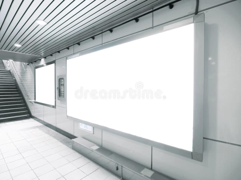billboardu puste miejsce zdjęcie stock