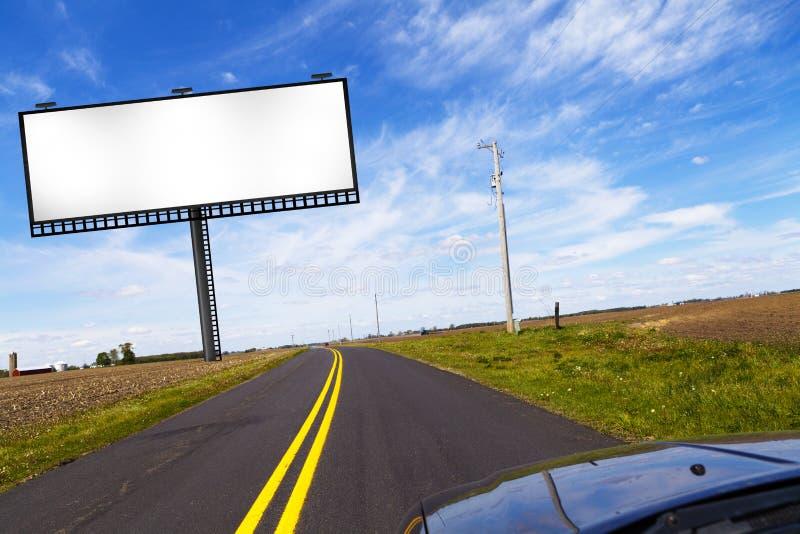 billboardu znak obraz stock