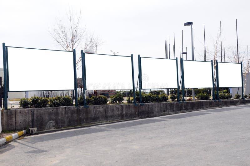 billboardy zdjęcie royalty free