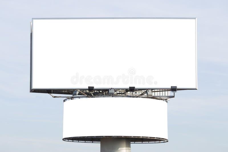billboardy blank dwa fotografia royalty free