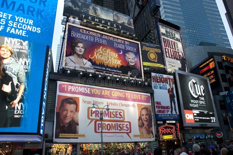 billboardy obciosują czas obraz royalty free