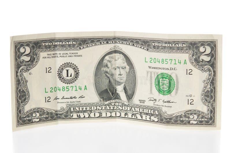 billdollar två arkivbild