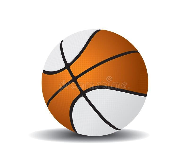 Bille 2 de basket-ball illustration libre de droits