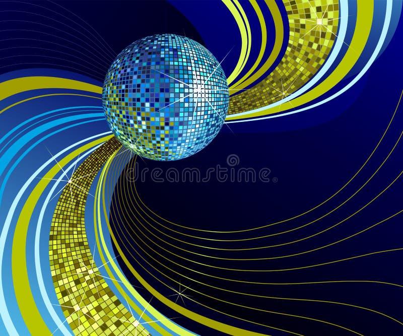 Bille brillante de disco. illustration libre de droits