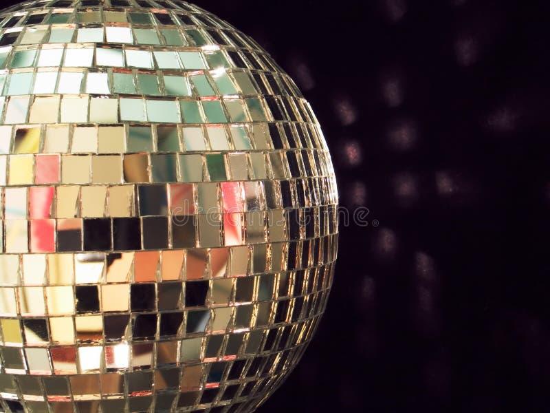 Bille brillante de disco, détaillée photo stock