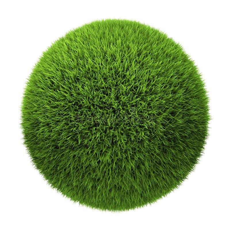 Bille d'herbe illustration stock