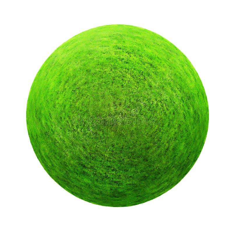 Bille d'herbe verte images libres de droits