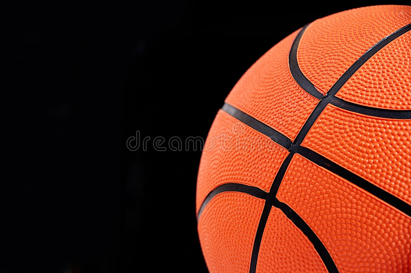 Bille de basket-ball. photographie stock libre de droits