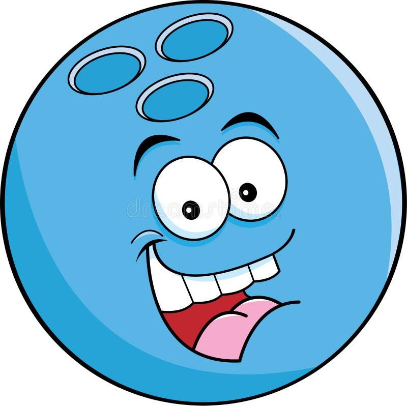 Bille de bowling de dessin anim illustration de vecteur illustration du humorous r cr ation - Bowling dessin ...