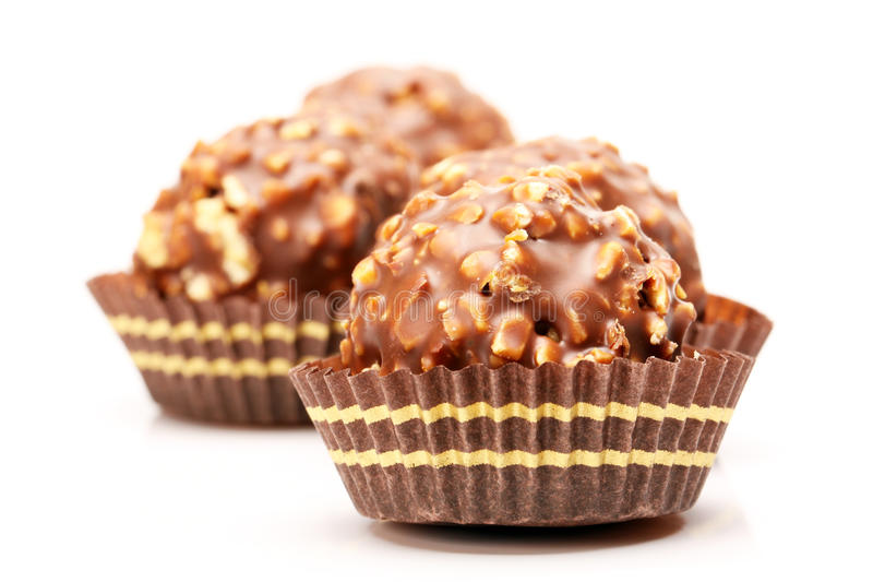 BILLE DE CHOCOLAT image stock