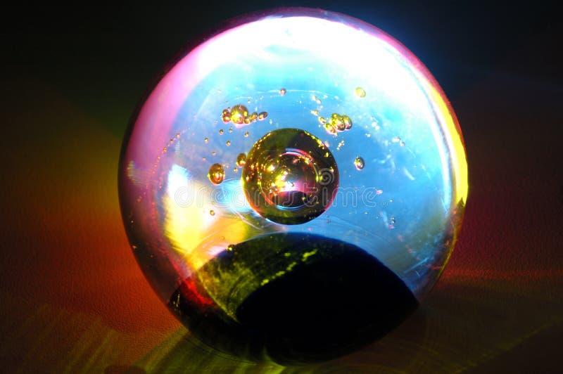 Bille de Cristal photographie stock libre de droits