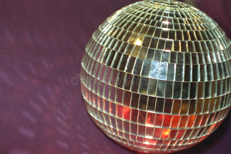 Bille de disco photographie stock libre de droits