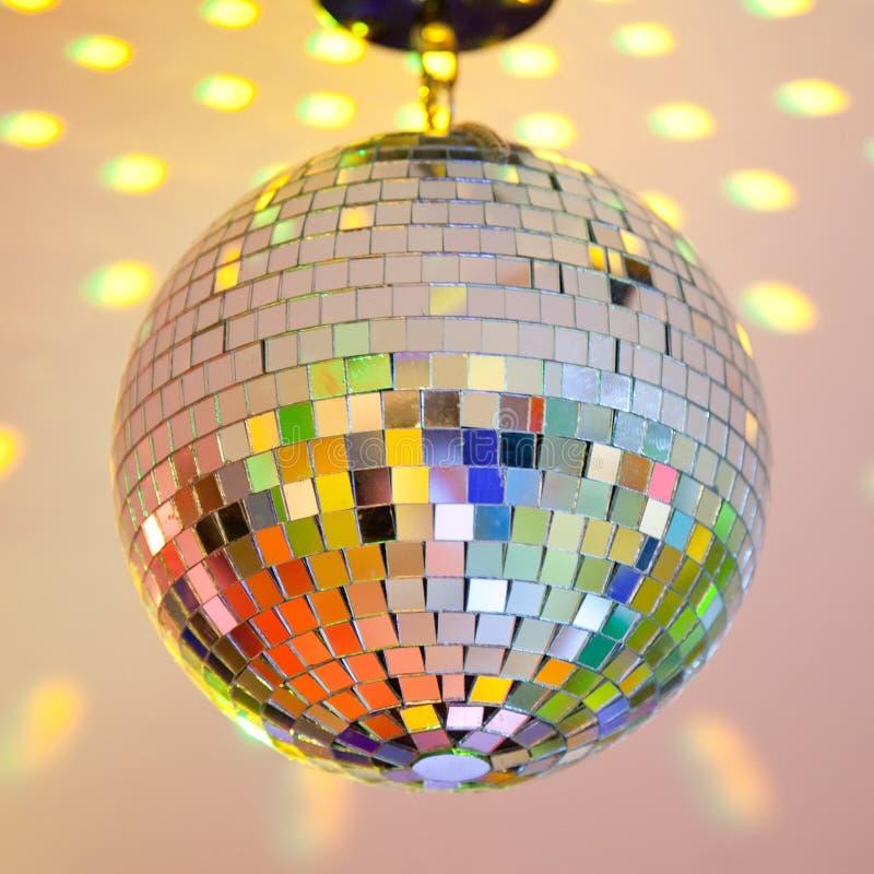 Bille de disco image stock