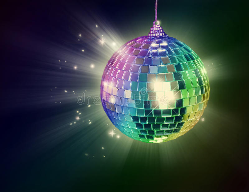 Bille de disco image stock