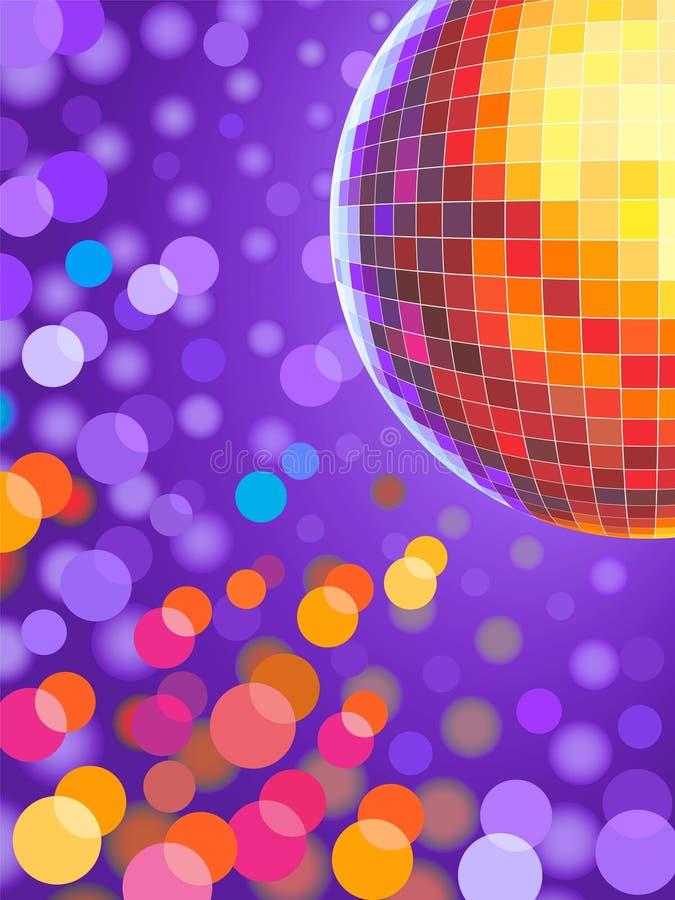 Bille de disco illustration libre de droits
