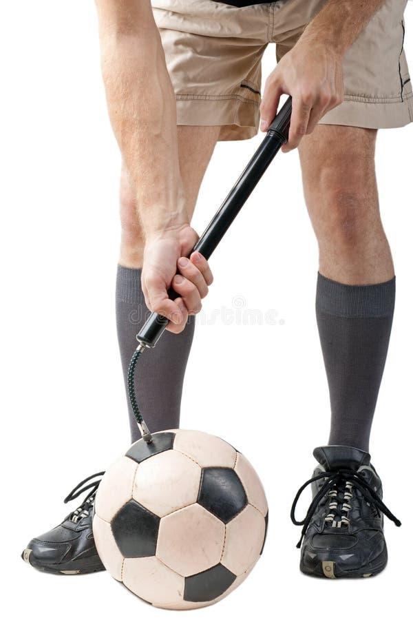 Bille de football image libre de droits
