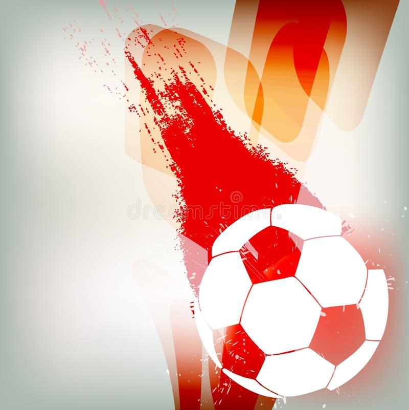 Bille de football illustration de vecteur