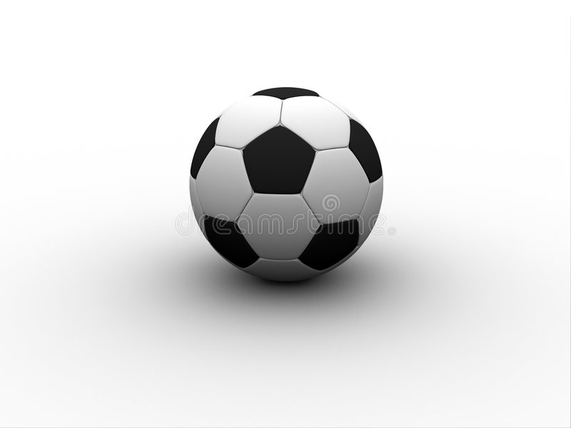 Bille de football illustration stock