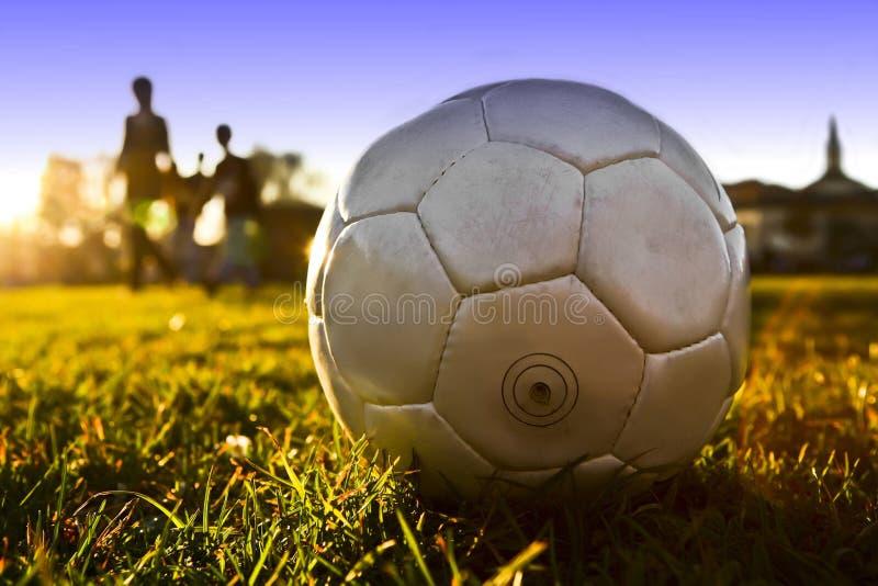 Bille de football photo libre de droits