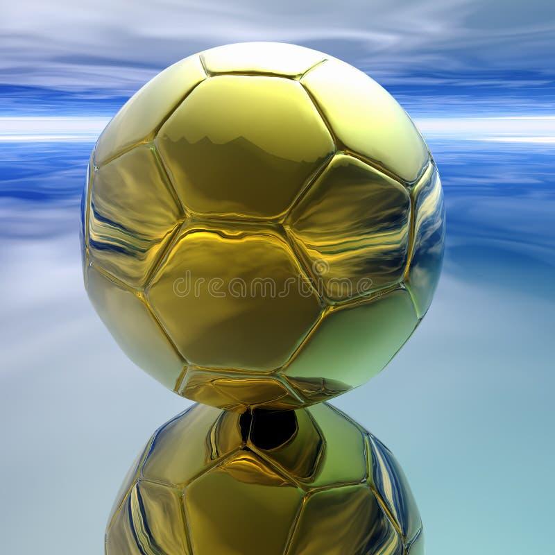 Bille de football abstraite photographie stock