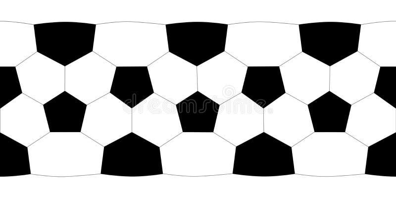 Bille de football de texture. illustration libre de droits