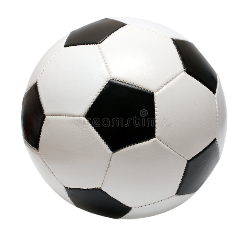Bille de football du football images stock