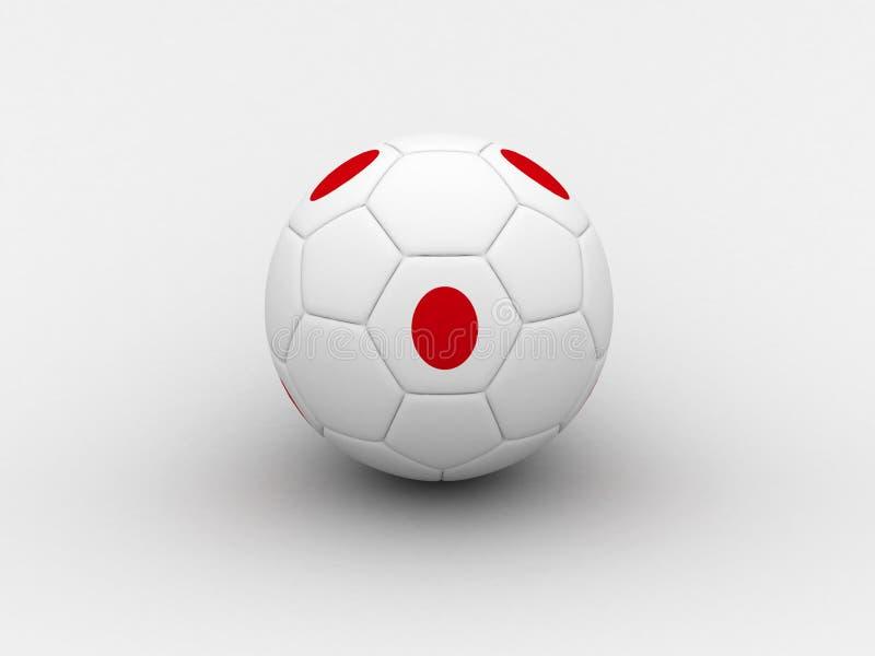 Bille de football du Japon illustration libre de droits