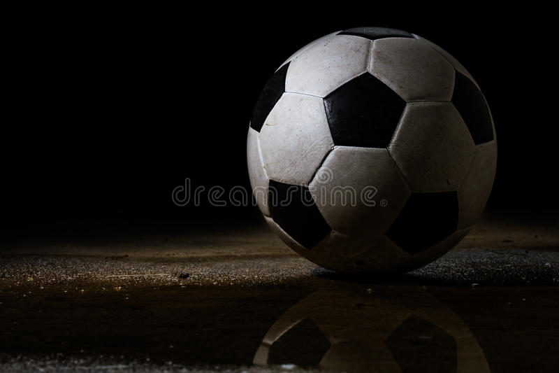 Bille de football modifiée photo libre de droits