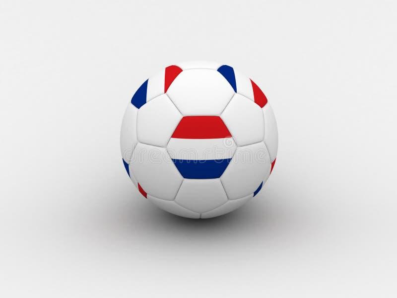 Download Bille De Football Néerlandaise Illustration Stock - Illustration du concurrence, gibier: 741217