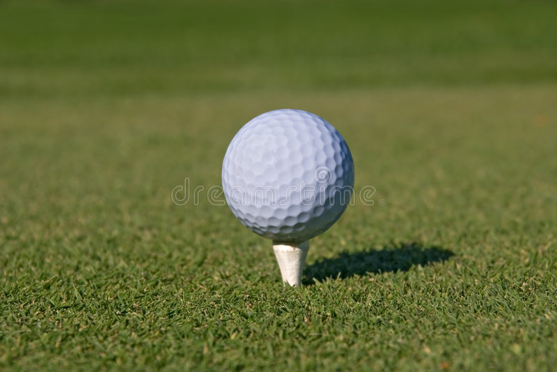 Bille De Golf 01 Photographie stock